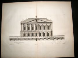 Vitruvius Britannicus 1771 LG Architecture Print. Spencer House St. James London